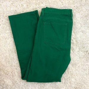 Green RALPH LAUREN modern straight jeans 12
